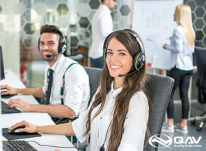 qav customer service and support team